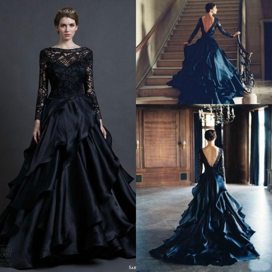 black lace wedding guest dresses black lace wedding dress Black Lace Short Wedding Guest Dress With Sleeves Modest