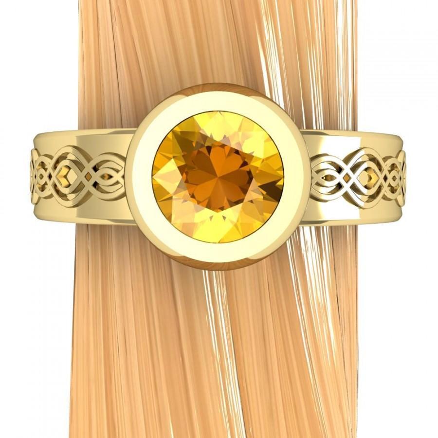 low profile prong setting 5ct diamond low profile wedding ring zoom