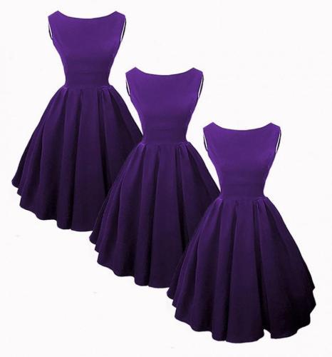50s style bridesmaid dresses purple 50s style wedding dresses Elisa Audry Hepburn Inspired 50s Style Bridesmaid Dresses In