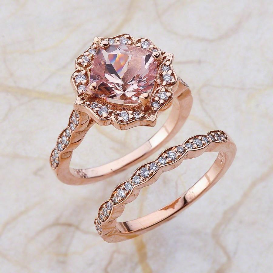 vintage wedding band Heart Shape Diamond Butterfly Vintage Engagement Ring setting Matching Wedding Band 0 37 tcw In