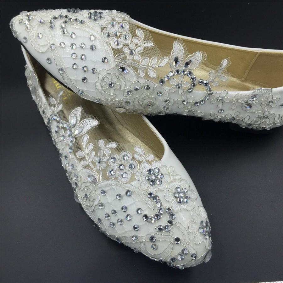 flat wedding shoes wedding flats Bowtie Flats Wedding Shoes By BHLDN Loverly