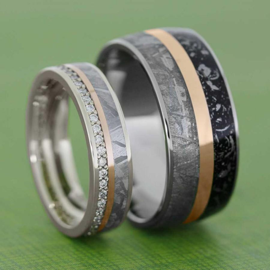 2 mens titanium wedding band Camo Wedding Rings Black Titanium Wedding Bands by 1 CAMO