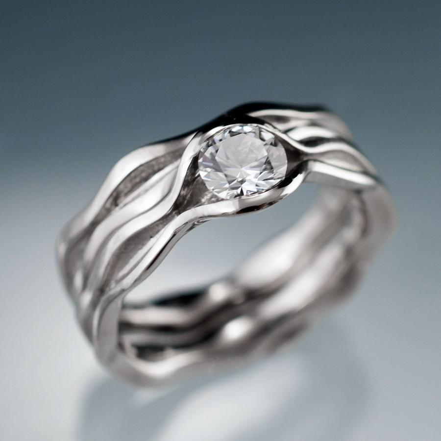 oval white sapphire and white gold ring white sapphire wedding rings sapphire and white gold ring zoom