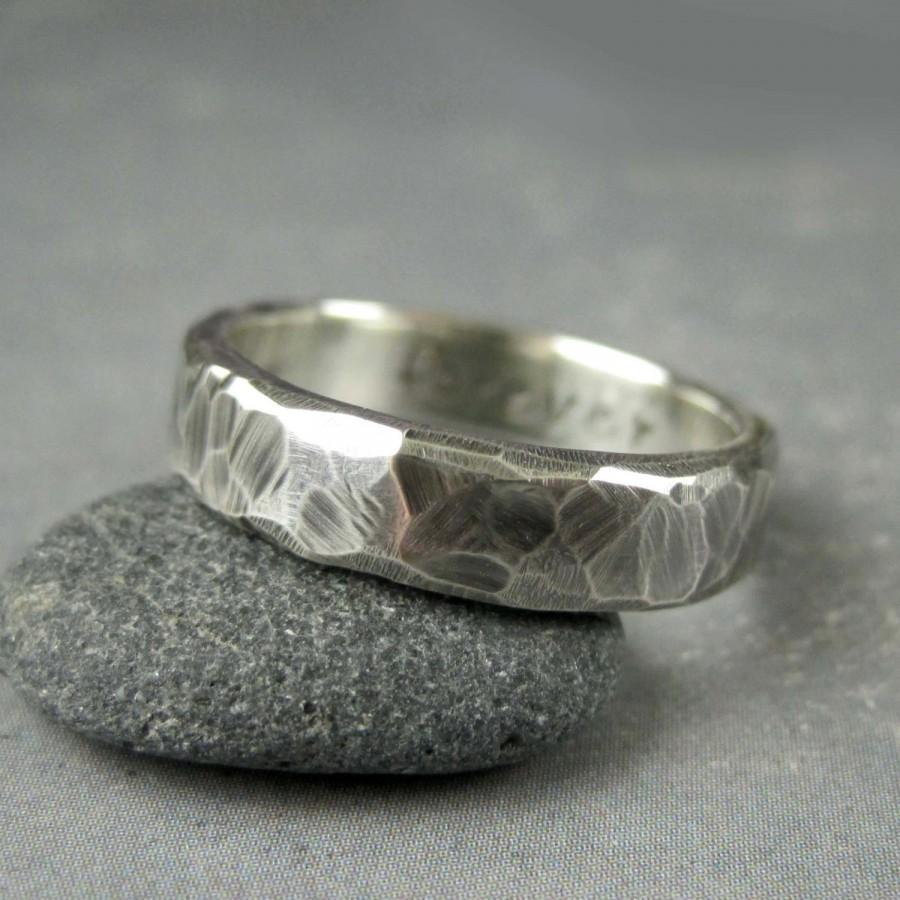 mens fused gold relic rustic wedding band rustic wedding bands