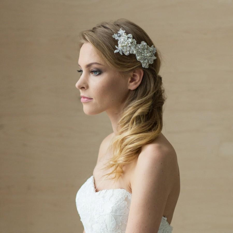 bridal headpieces wedding hair accessories These wedding hairstyles are gorgeous