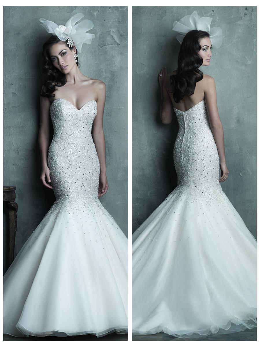 strapless sweetheart wedding dresses sweetheart mermaid wedding dresses strapless sweetheart beaded bodice mermaid wedding dress