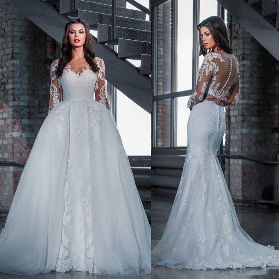 bridal revealing see through wedding dresses Dany Mizrachi Bridal Collection