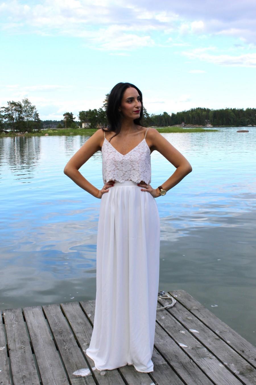 10 two piece wedding outfits b two piece wedding dress 07 27 dress5