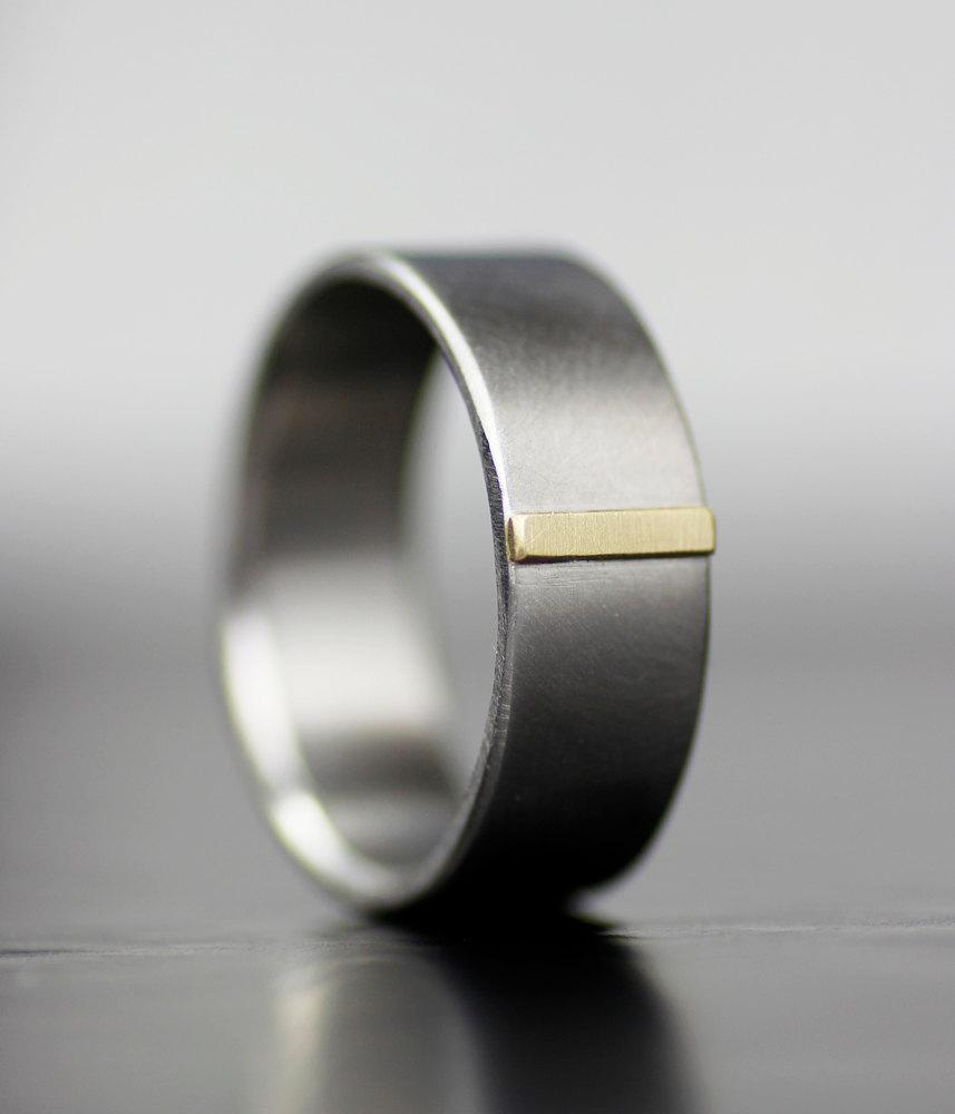 mens wedding band tungsten carbide 1 modern mens wedding bands Hover to zoom