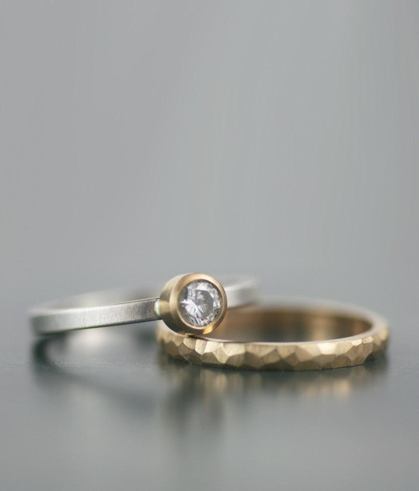 wedding rings womens wedding band Wedding Band Titanium 7mm