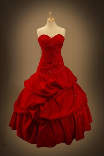 red gothic wedding dress ball gown red gothic wedding dress Red Gothic Wedding Dress Ball Gown