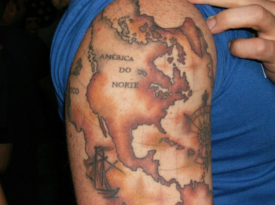 40  Travel Inspired Tattoos for the Wanderer in You
