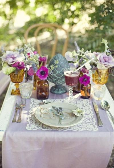 Summer Wedding - Unique Wedding Table Decoration Ideas ...