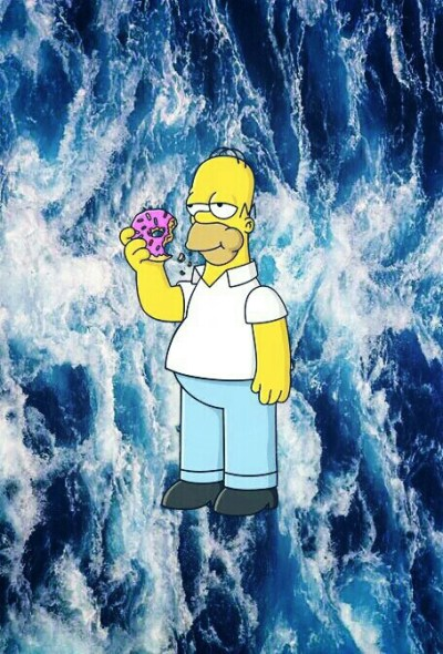 background, backgrounds, cool, cute, donuts, fondo, fondos, homer simpson, homescreen, the ...