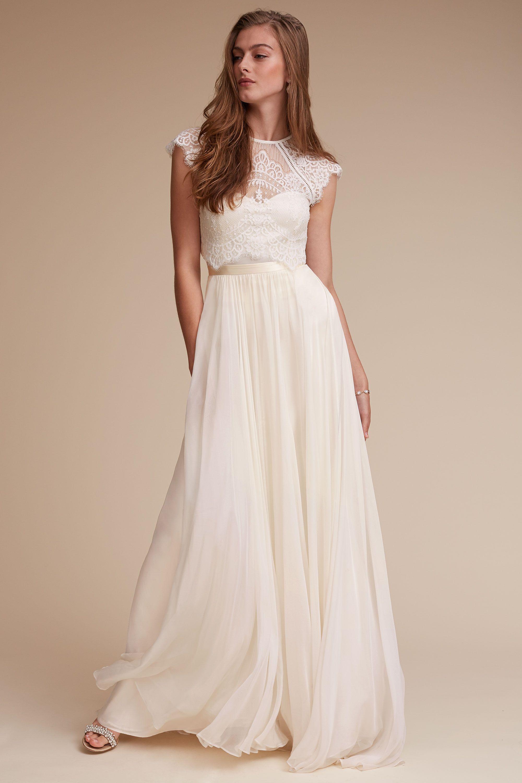 bride bridal separates wedding dress skirt Itala Top Delia Maxi Skirt