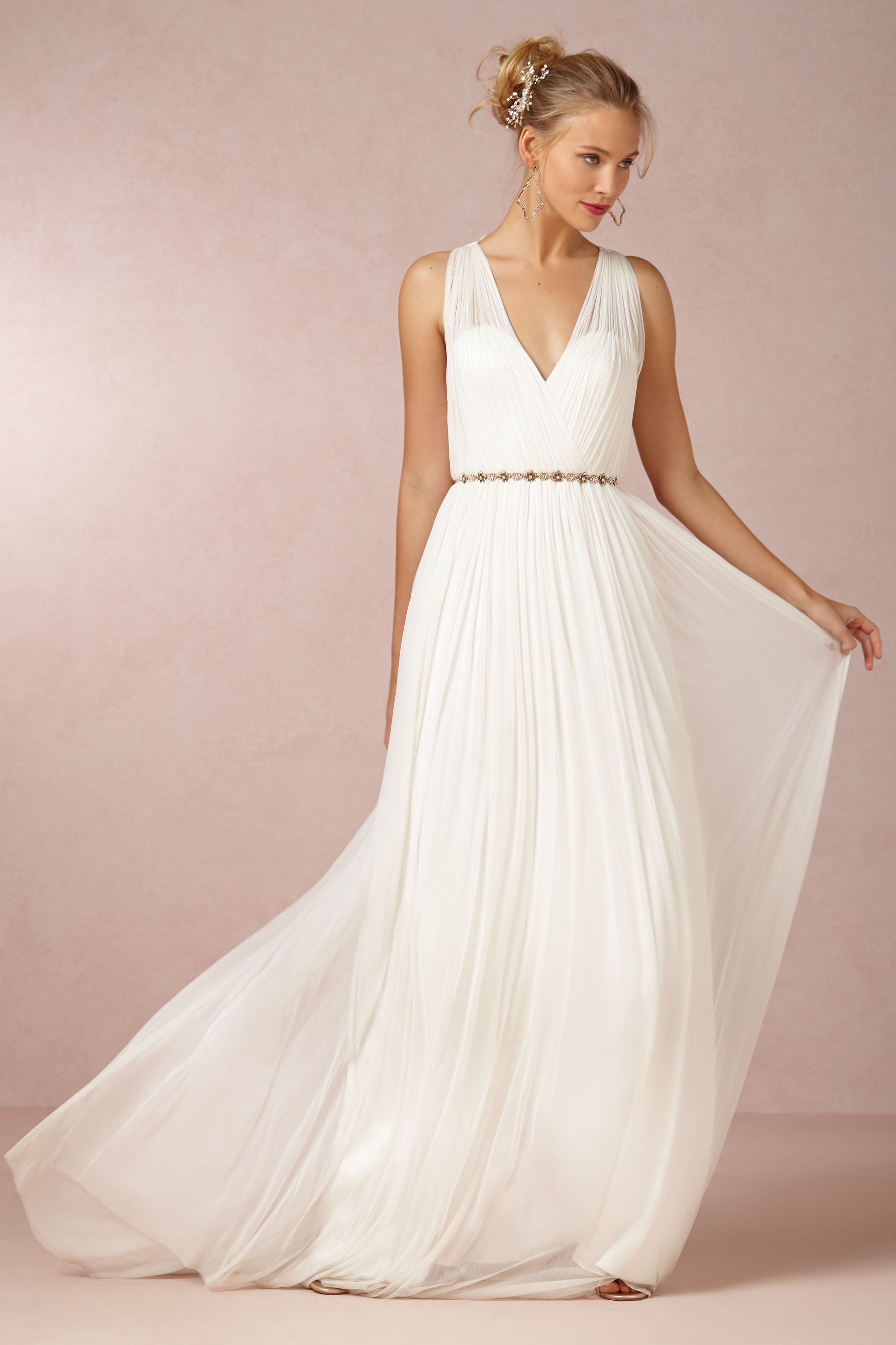 ruth gown straight wedding dresses Catherine Deane ivory Ruth Gown BHLDN