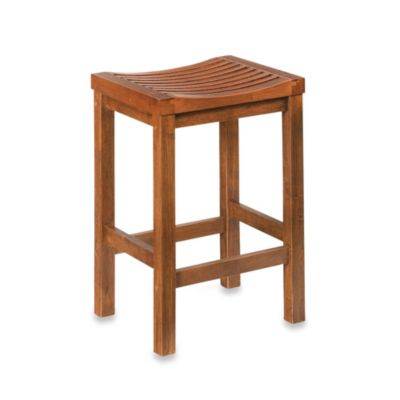 Home Styles 24-Inch Cottage Oak Bar Stool - Bed Bath & Beyond