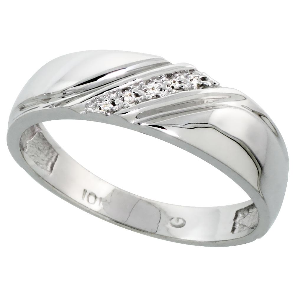 custom wedding rings for men mens diamond wedding bands Custom wedding rings for men Men S Sterling Silver And Diamond Ring Wedding Rings