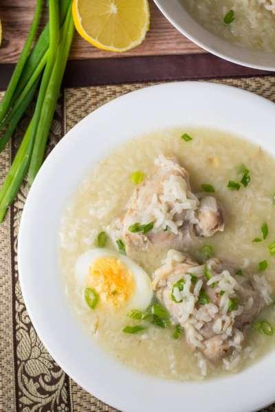 Arroz Caldo (Filipino Style Congee) - Salu Salo Recipes