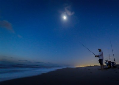 Night Surf Fishing (Month of October) – Sandbridge Life ...