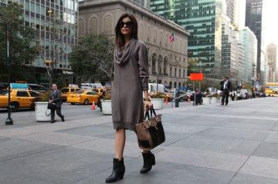 Fall Chic in New York - Sazan