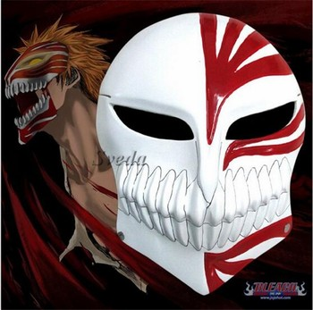 Promotion Bleach Anime Halloween Party Mask Bleach Mask Kurosaki     Promotion Bleach Anime Halloween party Mask Bleach mask Kurosaki Ichigo  mask in stock christmas party