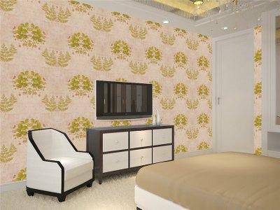 Design Wallpaper Home/hotel Wallpaper Rolls Price Non-woven Bedroom Living Room Decorative Wall ...