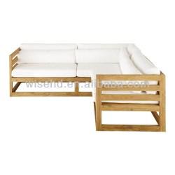 W B 0065 Solid Pine Wood Corner Sofa Buy Corner Sofasolid Wood