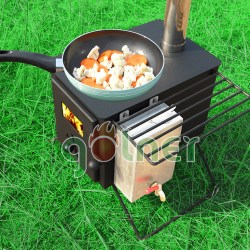 C 11 Wood Burning Camping Stoveoutdoor Small Portable Folding