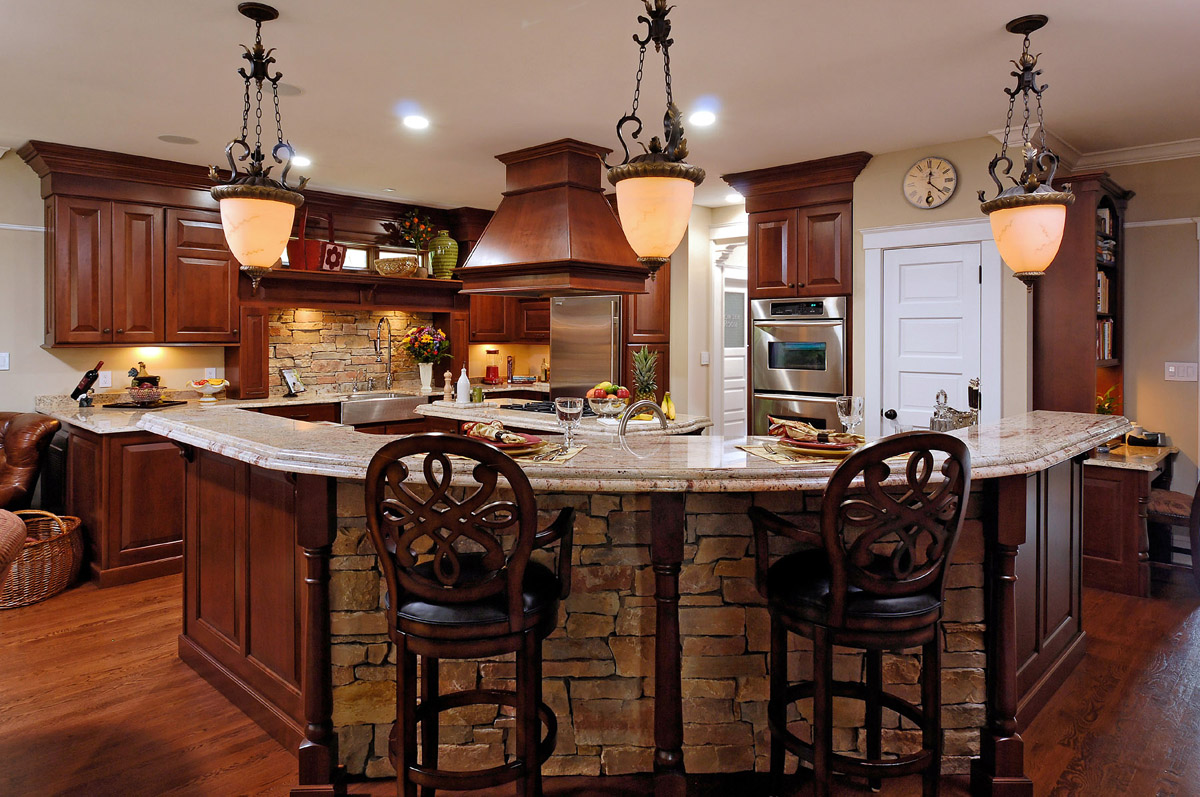 remodeled kitchen featuring natural cherry cabinetry remodeled kitchen Published December 13 at in