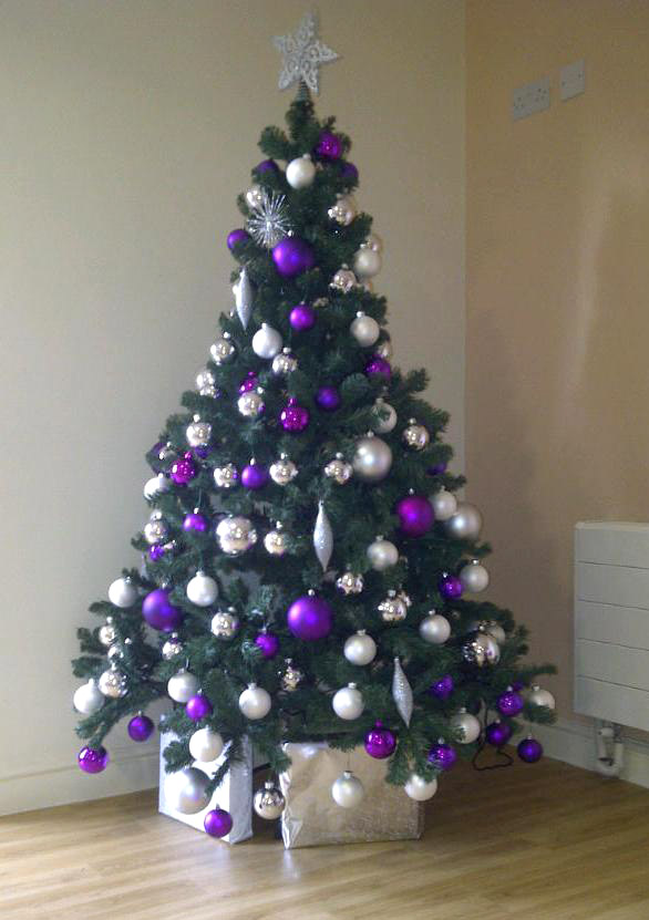 Christmas Tree Purple And Silver   New House Designs Scp 2536 Foundation  Christmas Tree With Purple Silver Decorations  Christmas Tree With Purple Silver Decorations Home