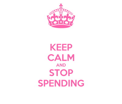 KEEP CALM AND STOP SPENDING - KEEP CALM AND CARRY ON Image Generator