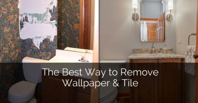 The Best Way to Remove Wallpaper & Tile | Home Remodeling Contractors | Sebring Design Build