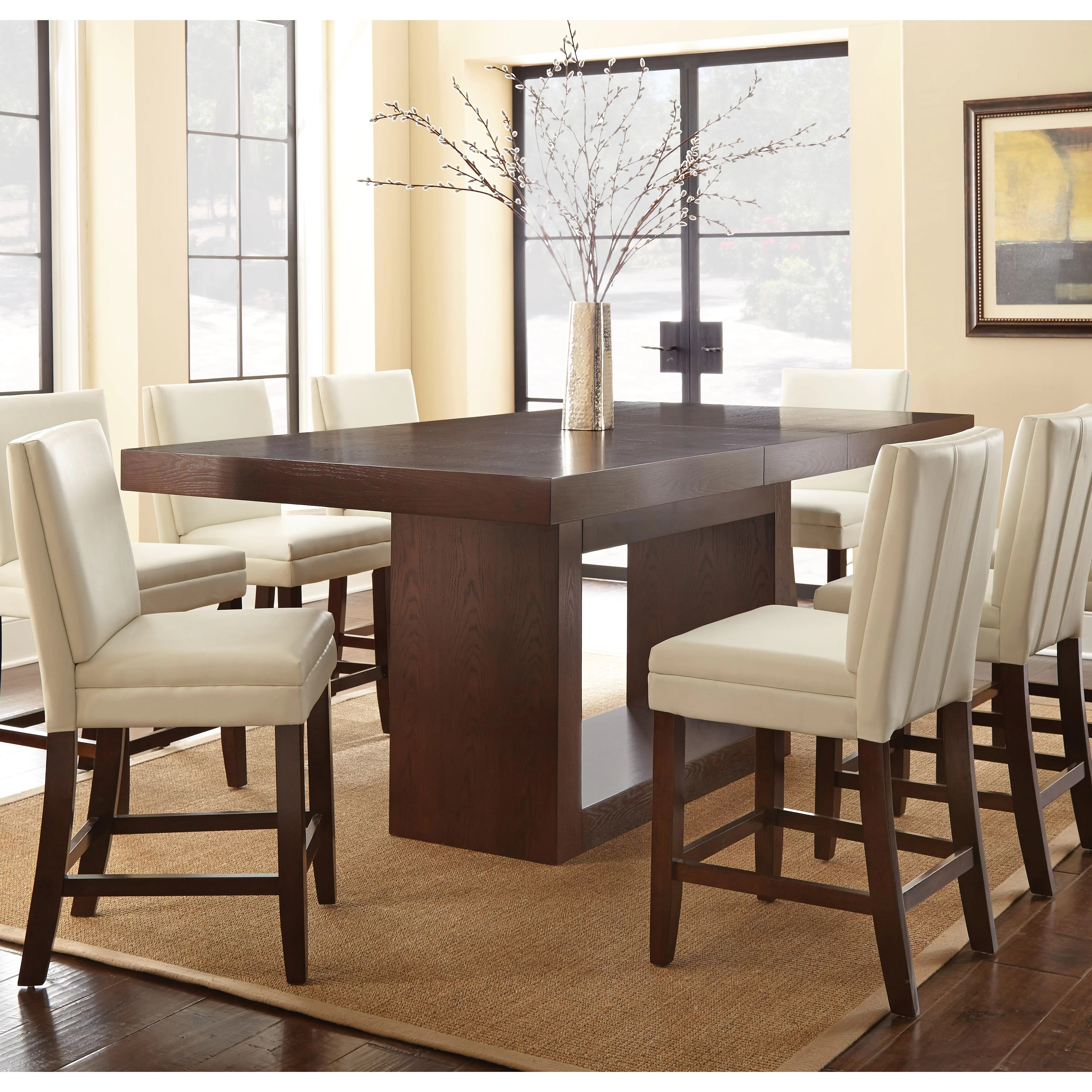 counter height dining kitchen tables c a~ counter height kitchen table Antonio Counter Height Dining Table