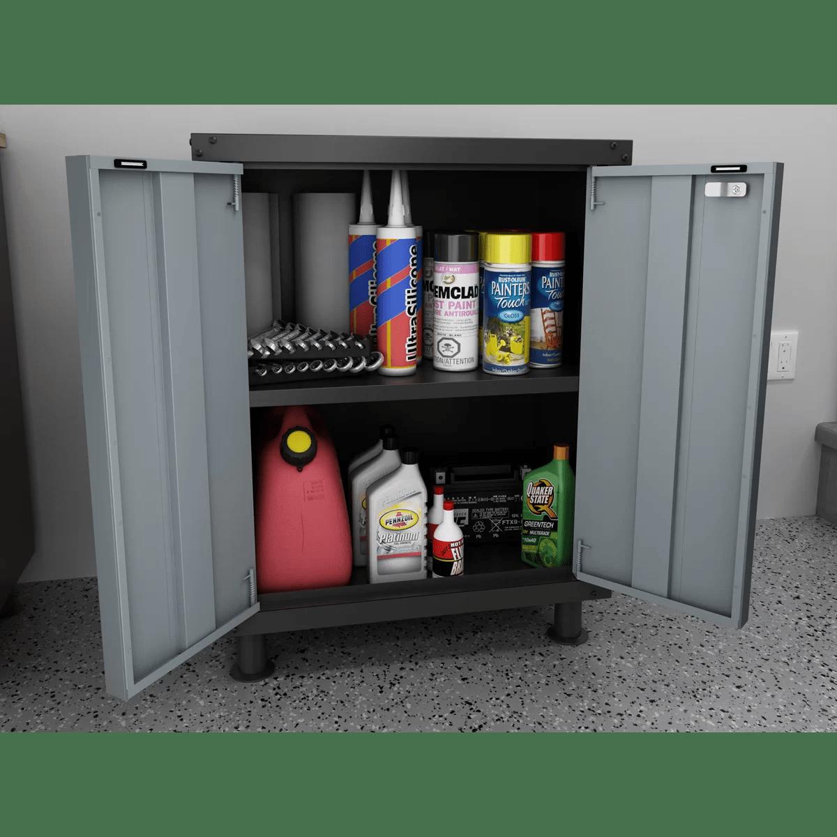 Newage Cabinets Garage Design Simplicity Newage Garage Cabinets New Age
