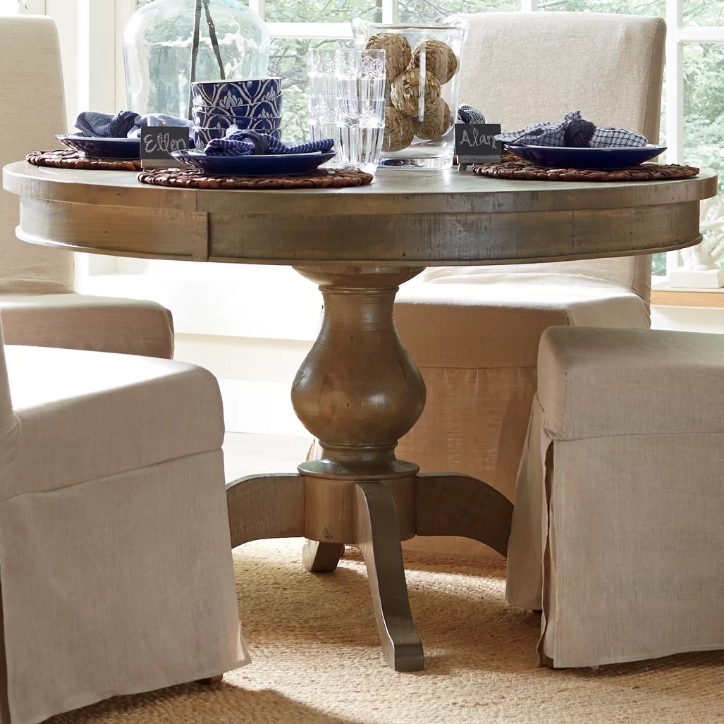 oval kitchen dining tables c a~ kitchen table bakers QUICK VIEW Seneca Round Dining Table