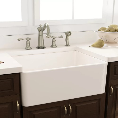 Nantucket Sinks Cape 30.25 x 18 Kitchen Sink with Grid and Drain