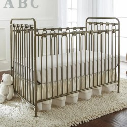 L a Baby Napa Metal 3 in 1 Convertible Crib Reviews Wayfair