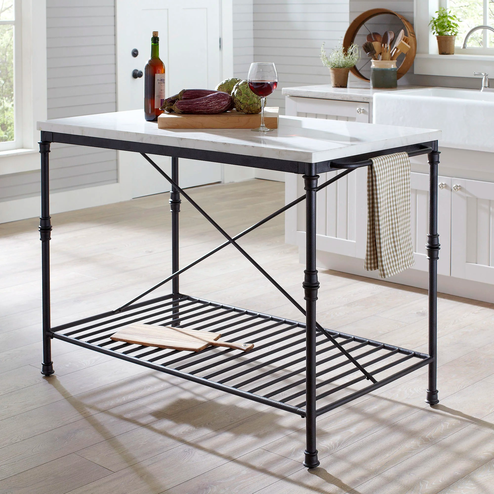 kitchen islands carts c a~ kitchen prep table EMAIL ME Liza Kitchen Island