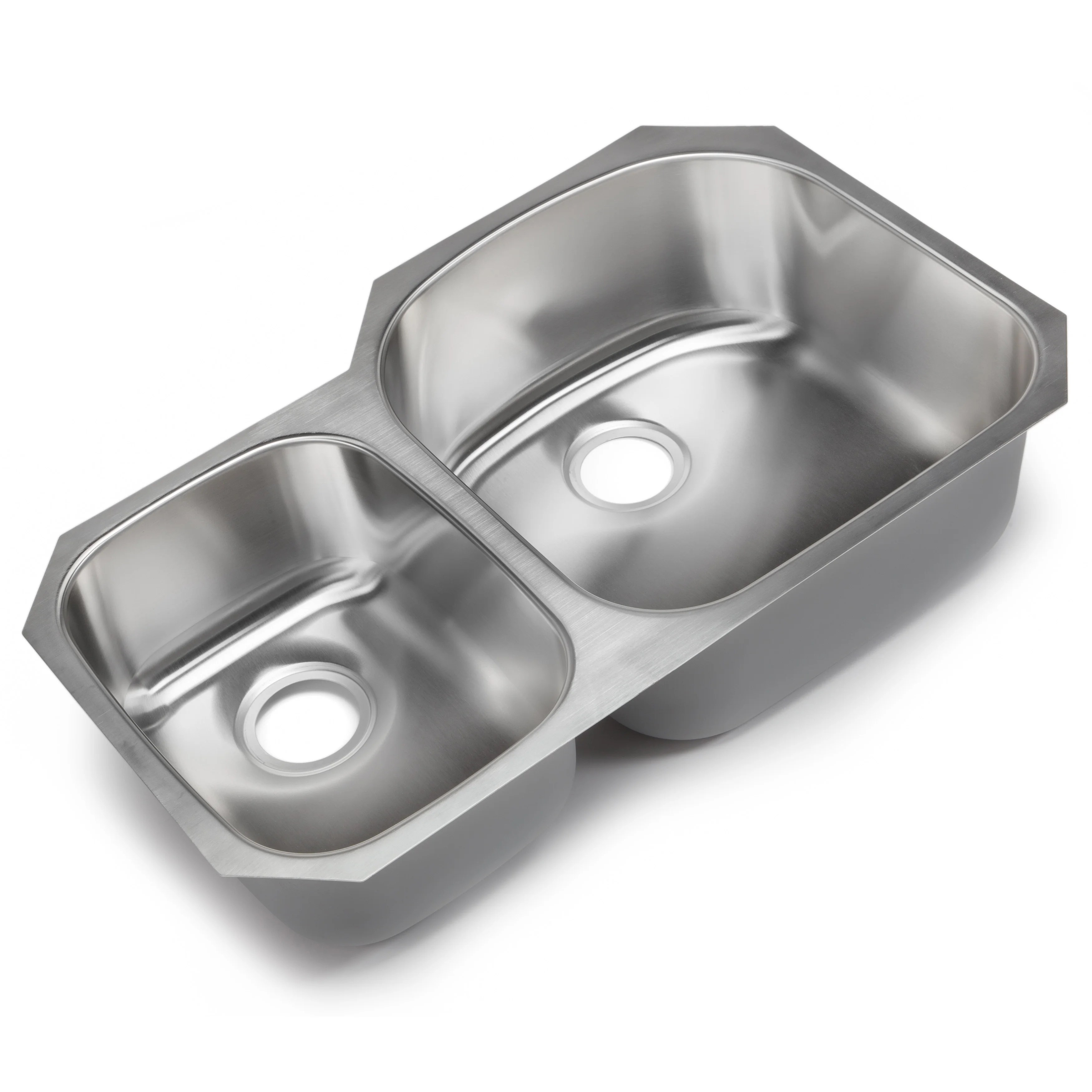 Hahn Classic Chef 32.38 x 20.5 Double Bowl Undermount Kitchen Sink