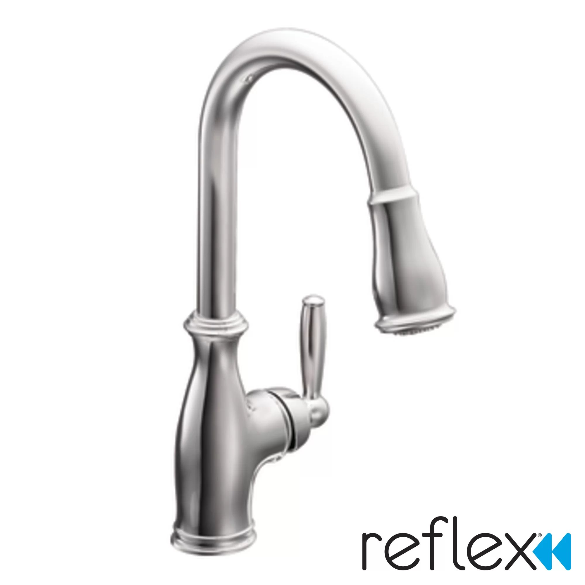 kitchen faucets c pull down kitchen faucet Brantford Single Handle Pull Down Kitchen Faucet