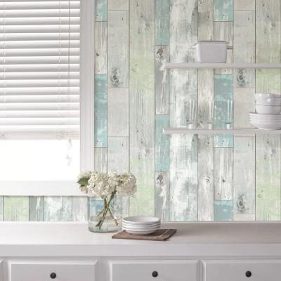 WallPops! Beachwood Peel And Stick Wallpaper & Reviews | Wayfair