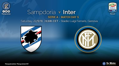 Preview: Sampdoria vs Inter - Champions League Hangover Or Will the Party Go On?