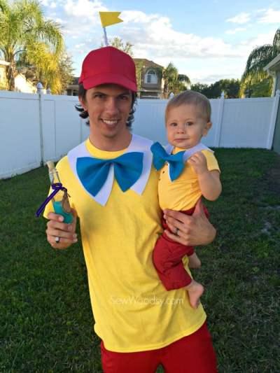 Easy Tweedle Family Costume - Sew Woodsy