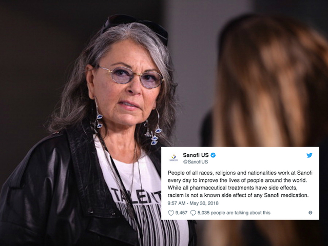Makers of Ambien respond to Roseanne Barr   Racism is not a known     Makers of Ambien clap back at Roseanne Barr   Racism is not a known side  effect