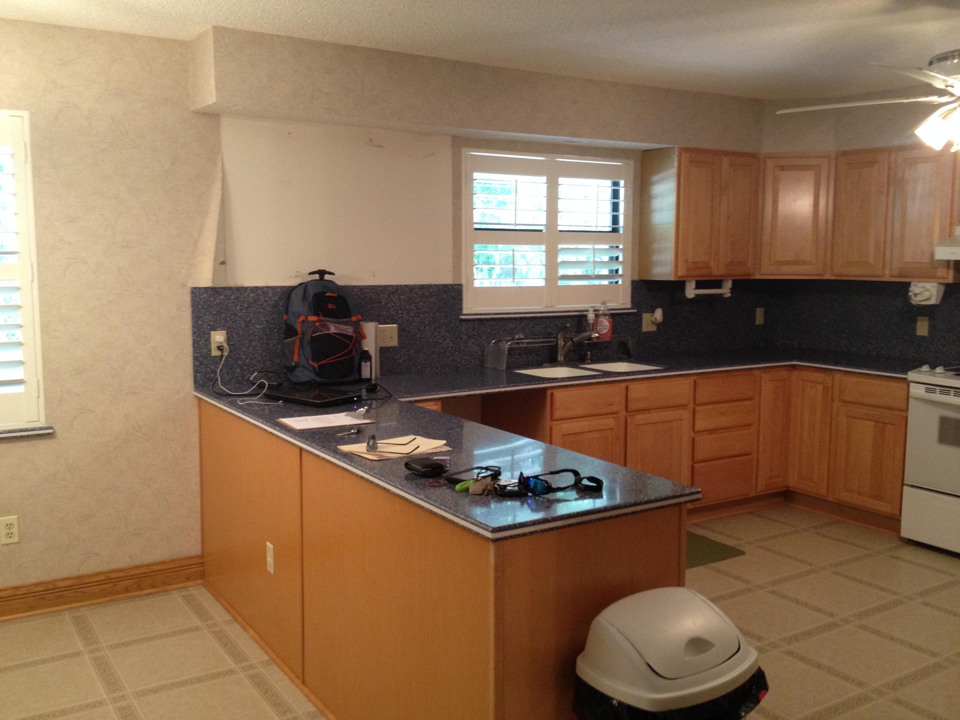 dreambuilder 23 a s kitchen renovation is complete kitchen remodel jacksonville fl Before