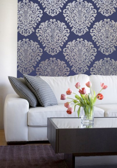 Buy vs. DIY: Wallpaper vs. Stencils – shemakescents
