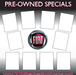 Fiat Preowned Specials Board