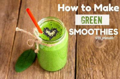 How to Make a Green Smoothie | Healthy Ideas for Kids
