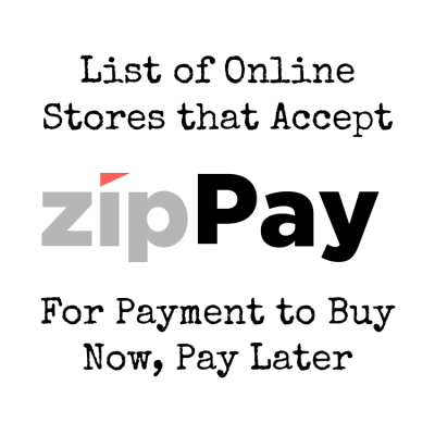 Online Stores That Accept zipPay To Buy Now, Pay Later - Shopping Kim
